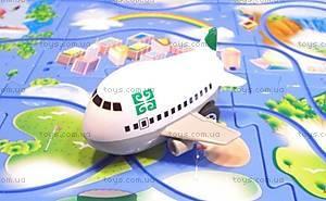 Игровой набор Puzzle Pilot «Аэробус (Джумбо)», 100531, детские игрушки