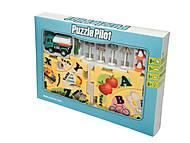 Игровой набор Puzzle Pilot «Бензовоз», 100588, фото