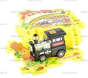 Игровой набор Puzzle Pilot «Железная дорога», 100511