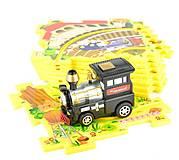 Игровой набор Puzzle Pilot «Железная дорога», 100511, фото