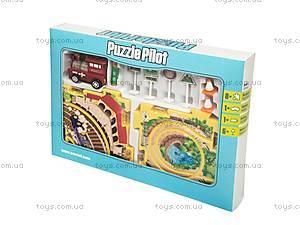Игровой набор Puzzle Pilot «Железная дорога», 100511, игрушки