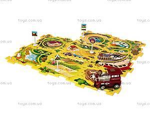 Игровой набор Puzzle Pilot «Железная дорога», 100511, детские игрушки