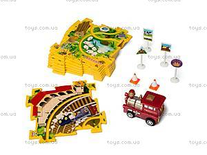 Игровой набор Puzzle Pilot «Железная дорога», 100511, магазин игрушек