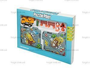 Игровой набор Puzzle Pilot «Кран», 100544