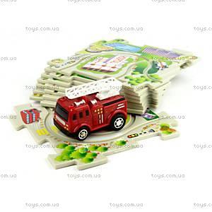 Игровой набор Puzzle Pilot «Пожарная машина», 100571