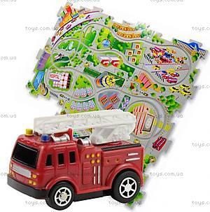 Игровой набор Puzzle Pilot «Пожарная машина», 100571, цена