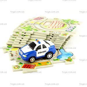 Игровой набор Puzzle Pilot «Полиция», 100573, toys.com.ua