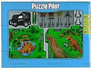 Игровой набор Puzzle Pilot «Пикап», 100561, магазин игрушек