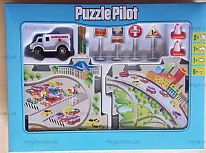 Игровой набор Puzzle Pilot «Скорая помощь», 100577, фото