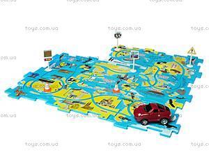 Игровой набор Puzzle Pilot «Спортивный автомобиль», 100566, цена