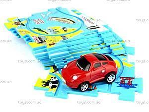Игровой набор Puzzle Pilot «Спортивный автомобиль», 100566, игрушки