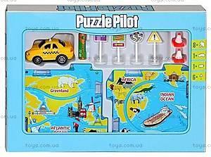 Игровой набор Puzzle Pilot «Такси», 100555