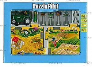 Игровой набор Puzzle Pilot «Трактор», 100591