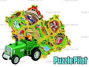 Игровой набор Puzzle Pilot «Трактор», 100591, игрушки