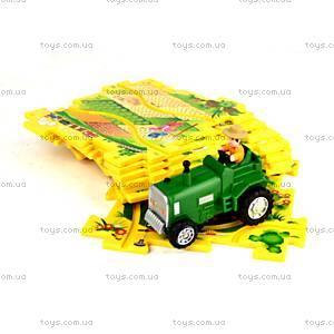 Игровой набор Puzzle Pilot «Трактор», 100591, детские игрушки