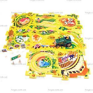 Игровой набор Puzzle Pilot «Трактор», 100591, магазин игрушек
