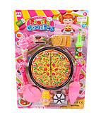 Игровой набор «Пиццерия» на листе, 7608-4