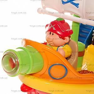 Игровой набор «Пиратский корабль» с эффектами, 038075, детские игрушки