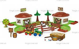 Игровой набор «Ранчо с лошадьми», 53410, купить