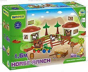 Игровой набор «Ранчо с лошадьми», 53410