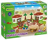 Игровой набор «Ранчо с лошадьми», 53410, фото