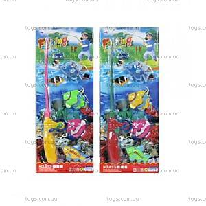 Игровой набор рыбалка, 4 рыбки, 853-4