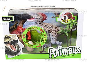 Динозавр игровой набор с аксесс, свет, звук, 800-64, отзывы
