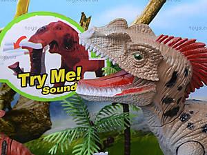Игровой набор с динозавром и аксессуарами, 800-65, фото
