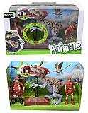 Игровой набор с динозавром и аксессуарами, 800-65