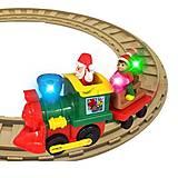 Игровой набор с железной дорогой «Рождественский экспресс», 056770, фото
