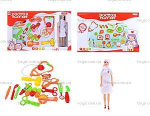 Игровой набор с куклой «Доктор», 1001-1