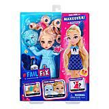 """Игровой набор с куклой FAILFIX серии """"TOTAL Makeover"""" - Школьница, 12804, купить"""