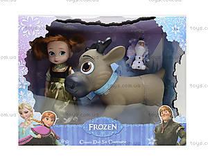 Игровой набор с куклой «Холодное сердце», ZT8885, игрушки