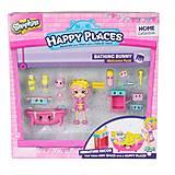 Игровой набор с куклой «Ванная комната Бабли Гам», 56327, магазин игрушек