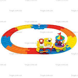 Игровой набор с паровозом «Железная дорога», 041954