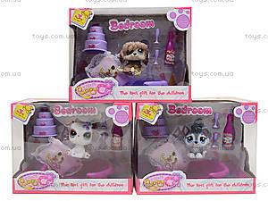 Детский игровой набор с питомцем Puppy Сlub, CL2102B-1-4, toys.com.ua
