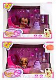 Игровой набор со щенком Puppy Сlub, CL2106