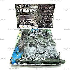 Игровой набор с солдатиками «Защитник №1», 1-042, купить
