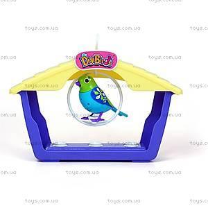 Игровой набор с интерактивной птичкой DigiBirds «Аттракцион Крислалла», 88026-1