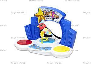 Игровой набор с интерактивной птичкой DigiBirds «Бумбокс», 88268, фото