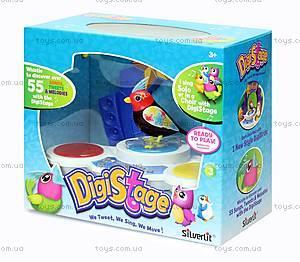 Игровой набор с интерактивной птичкой DigiBirds «Бумбокс», 88268, игрушки