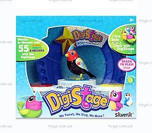 Игровой набор с интерактивной птичкой DigiBirds «Бумбокс», 88268, toys