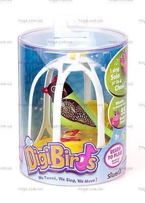 Игровой набор с интерактивной птичкой DigiBirds «Оливия», 88299, купить