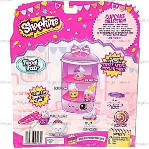 Игровой набор Shopkins S3 серии «Вкусняшки. Капкейки», 56109, фото