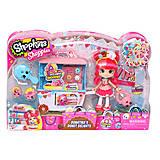 Игровой набор Shopkins Shoppies «Пончиковая лавка Донатины», 56186, фото