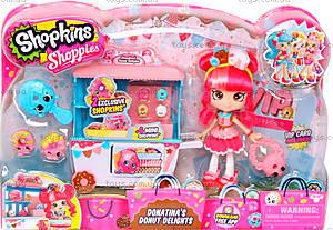 Игровой набор Shopkins Shoppies «Пончиковая лавка Донатины», 56186