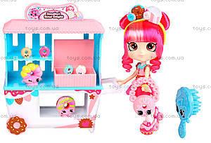 Игровой набор Shopkins Shoppies «Пончиковая лавка Донатины», 56186, купить