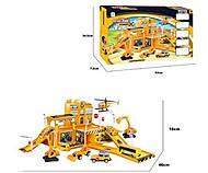 Игровой набор «six-six-Zero» Строительная площадка, 660-A66, фото