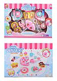 Игровой набор «Десерт» на липучках, YJB418, магазин игрушек