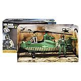 """Игровой набор """"Soldier Combat: Helicopter"""", 81-44E, игрушки"""